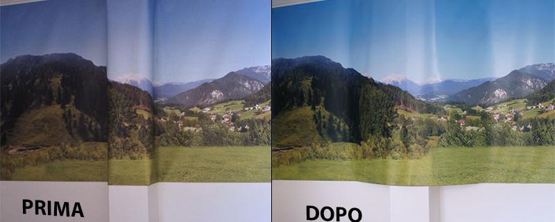 Lesena prima e dopo