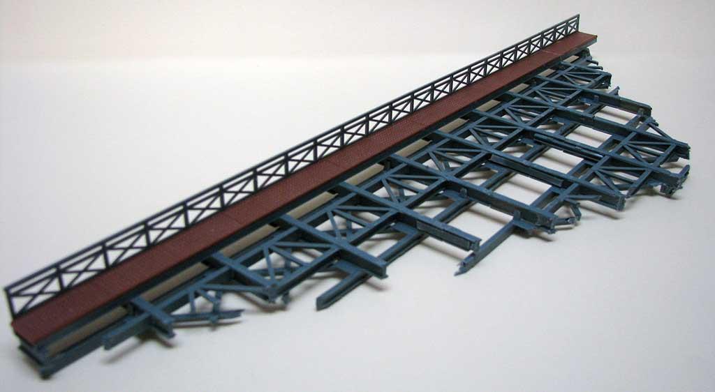 Il ponte assemblato