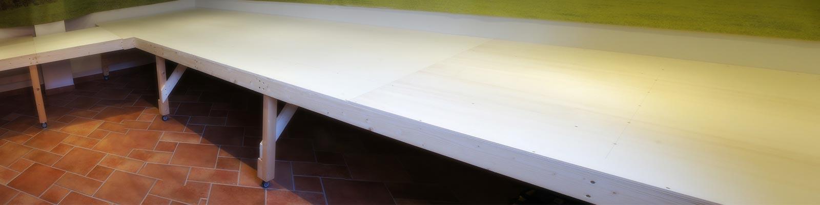 Il tavolo del plastico