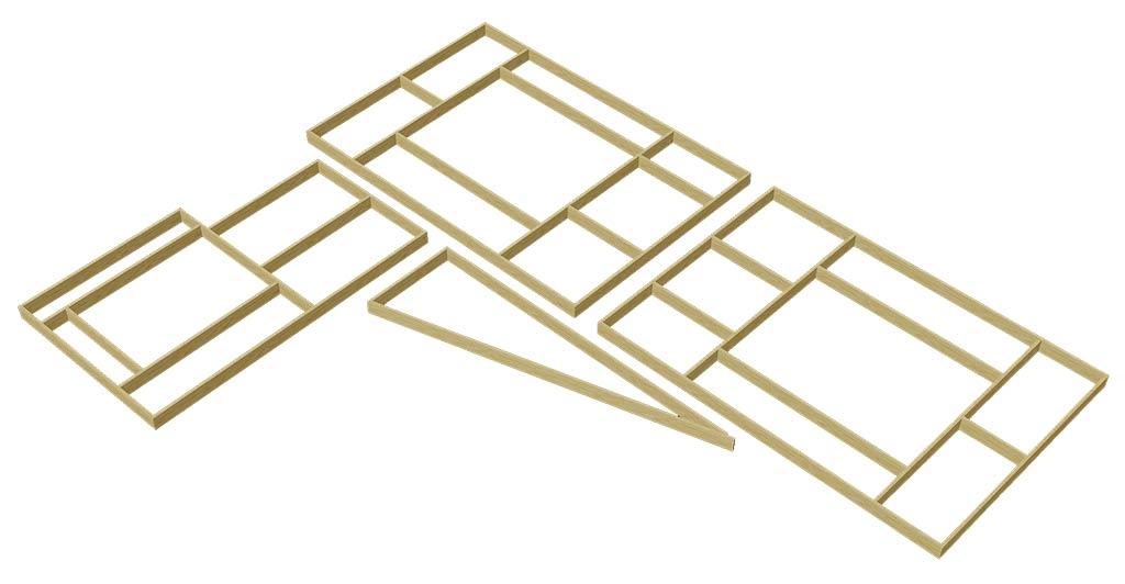 I moduli del tavolo
