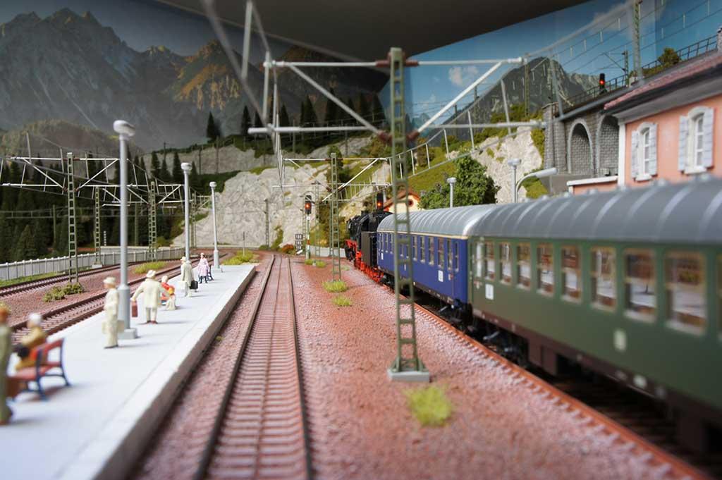 I treni del plastico