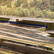 Stazione in costruzione