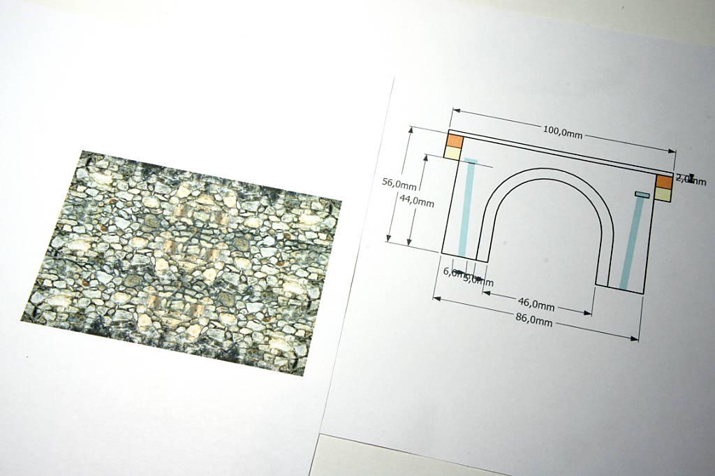 Texture per sottopasso