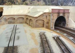 Zona deposito locomotive