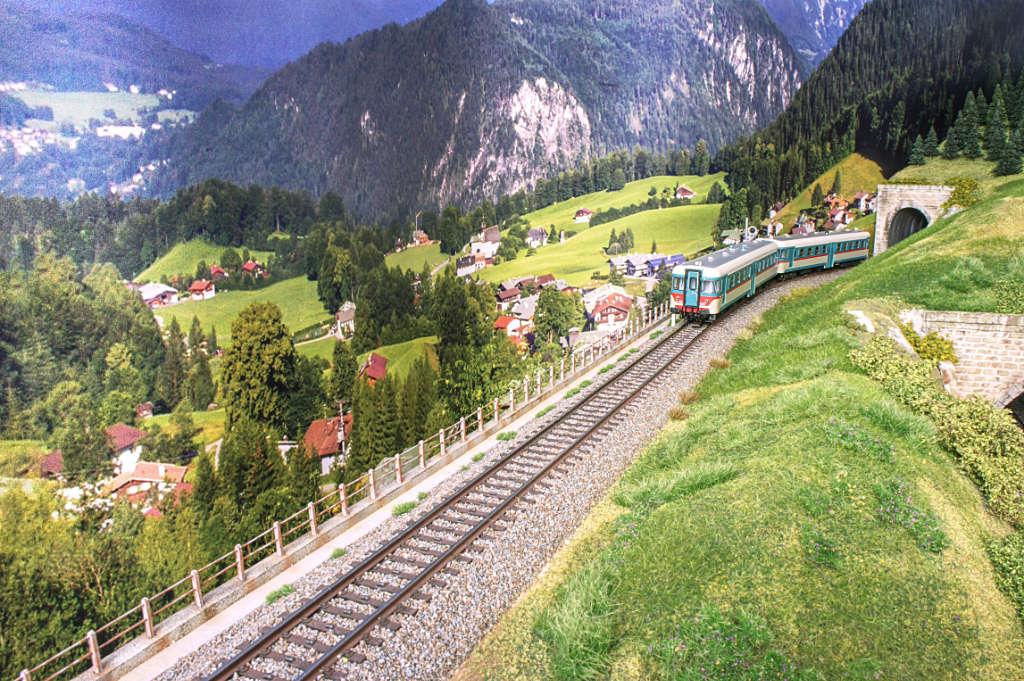 Aln668 nel paesaggio alpino