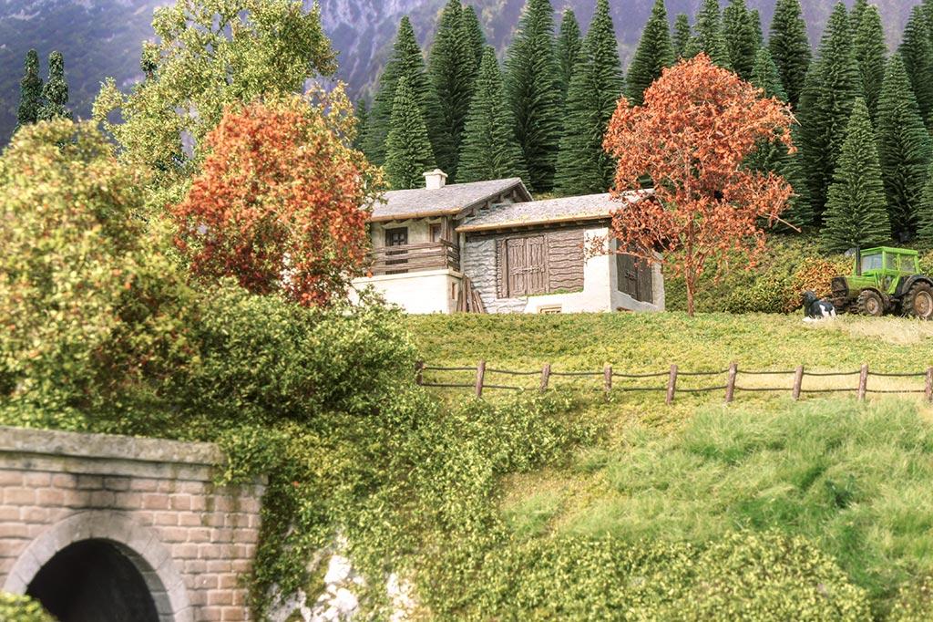 La baita di montagna