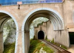 Il tunnel sotto il ponte