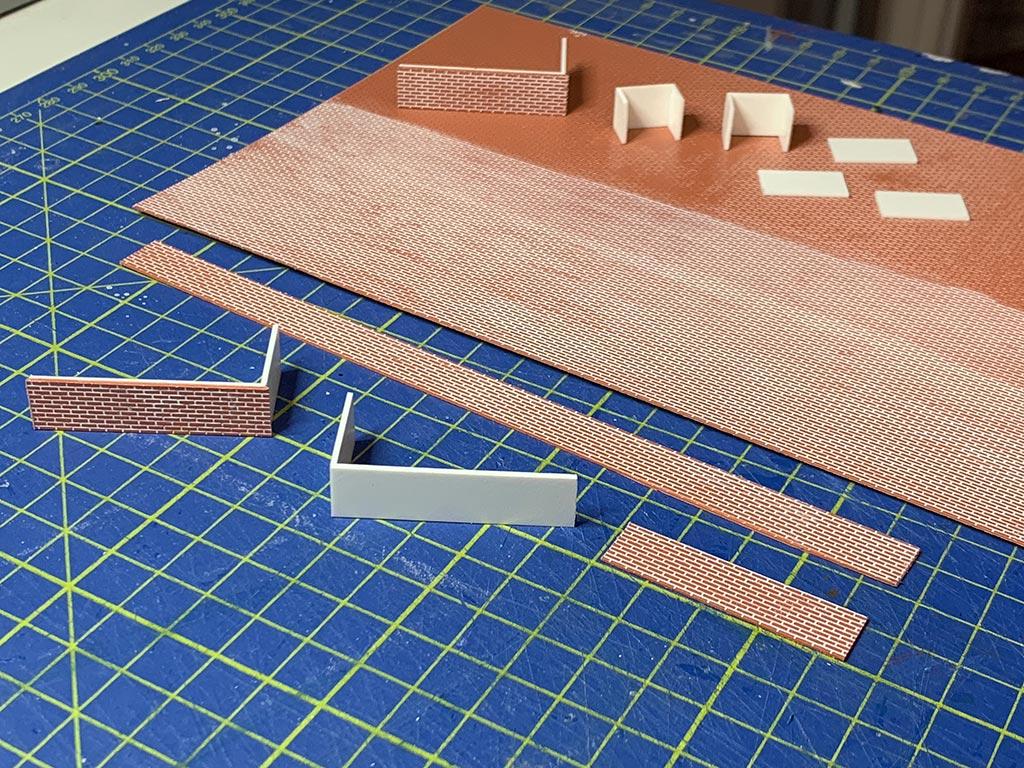 Lastra di mattoni per particolari