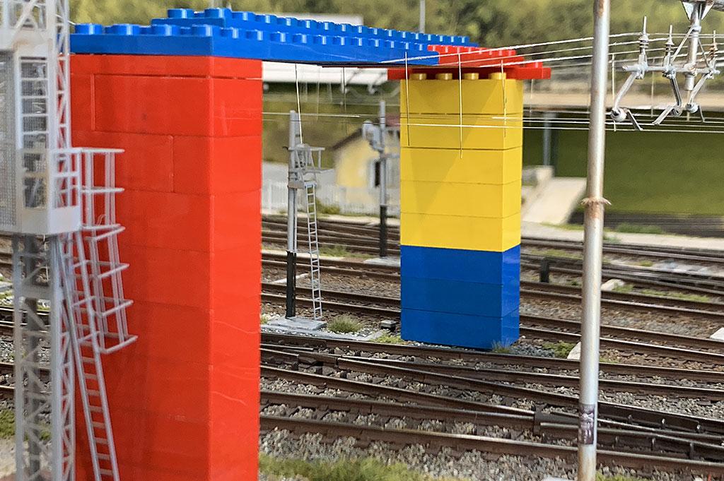 I Lego sono stati di aiuto per la spanciatura