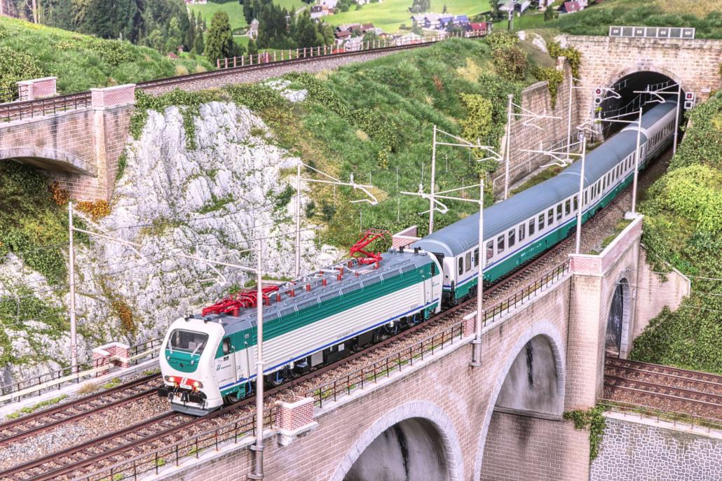 Main bridge of Buzzaceto with E403 XMPR